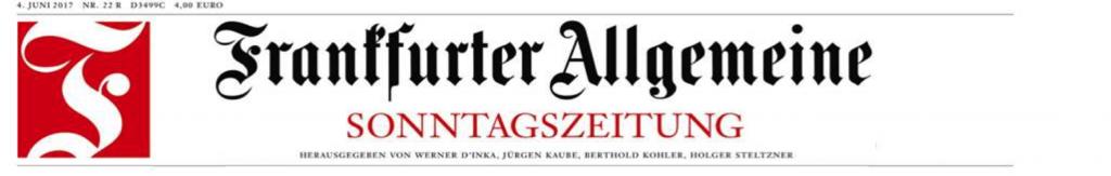 Frankfurter Allgemeine Sonntagszeitung, 04.06.2017, Politik, Seite 7