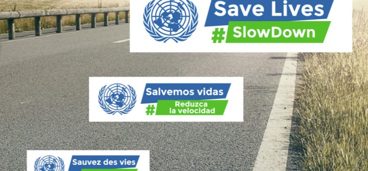 FEVR – Plakat für Verkehrssicherheit der Vereinten Nationen