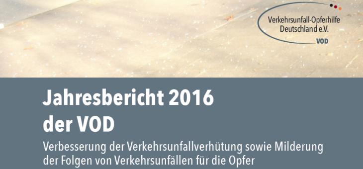 Jahresbericht der VOD 2016