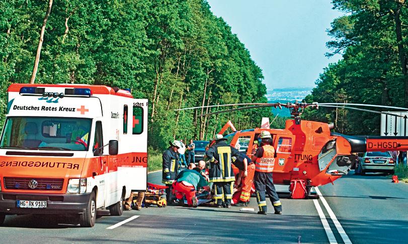 Unfallopfer: Nach der Erstversorgung drohen langjährige Auseinandersetzungen