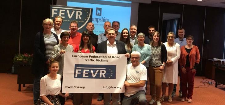 Jahreshauptversammlung 26.09.2017 der FEVR in Leeuwarden/NL unter Teilnahme unseres Vorstandsmitglieds Wulf Hoffmann (Mitte)