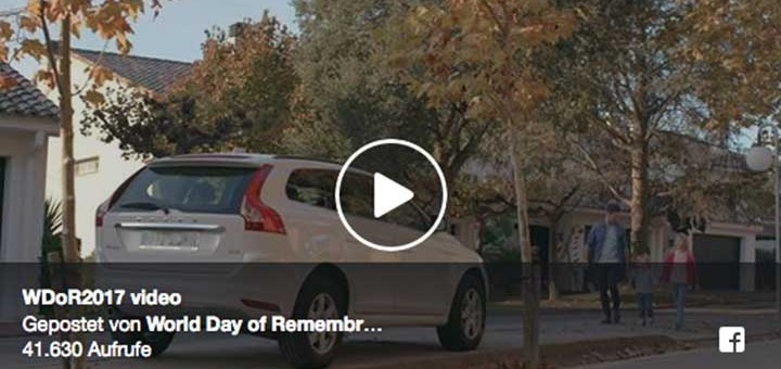 World Day of Rememberance 2017 – Kurzfilm