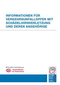 Informationen für Verkehrsunfallopfer mit Schädelhirnverletzung und deren Angehörige